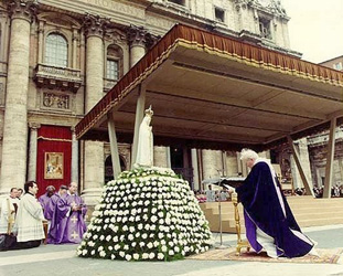 consecration to the Immaculate Heart of Mary on 25 March 1984