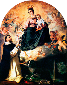 Our Lady Rosary Saint Dominic